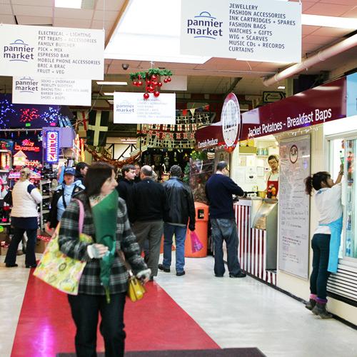 pannier market interior view